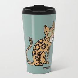 Cat - Bengal cat Travel Mug