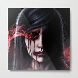 FACES: See no Evil Metal Print