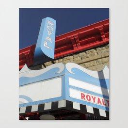 The Royal Theatre Canvas Print