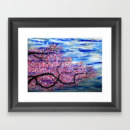 Cherry Tree Framed Art Print