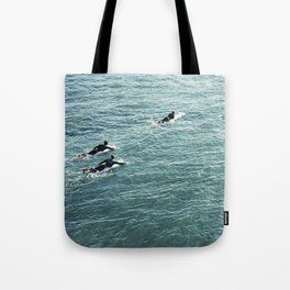 The Paddle out Tote Bag