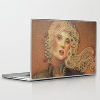 gustav klimt Laptop & iPad Skins featuring klimt by Galvanise The Dog