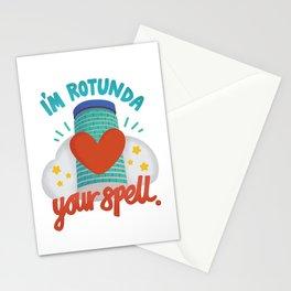 I'm Rotunda your spell Stationery Cards