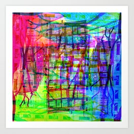 Visually speaking, it's an acknowledgment of lack. [RGB] Art Print