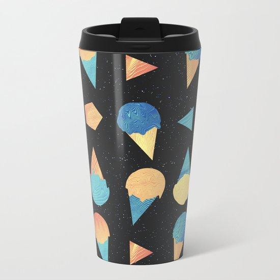 Cosmic Cream Metal Travel Mug