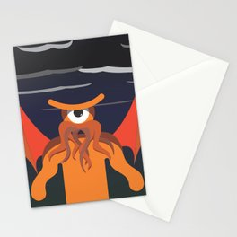 under the glance of cthulhu Stationery Cards