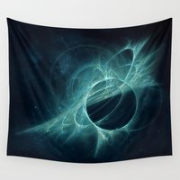 portal Wall Tapestries featuring Portal by MG-Studio