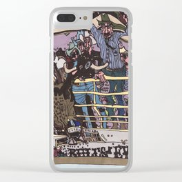 8 seconds to Fame - Calgary Stampede Clear iPhone Case