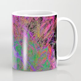 Witch Doctor Fire (psychedelic, ultraviolet) Coffee Mug