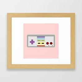 NINTENDO II Framed Art Print