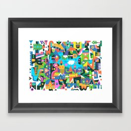 Neighbourhood 2 Framed Art Print