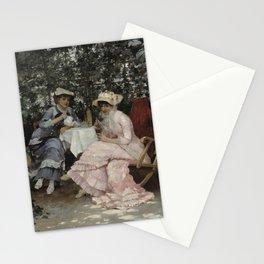Hugo Birger - Sitting Under the Arbour Stationery Cards