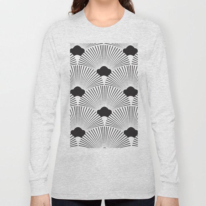 Art Deco Fans Long Sleeve T-shirt