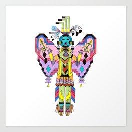 Kachina Butterfy 7 Art Print