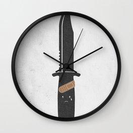 I Cut Myself Wall Clock