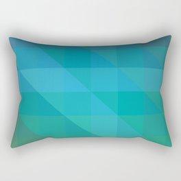 Cold Palette Rectangular Pillow