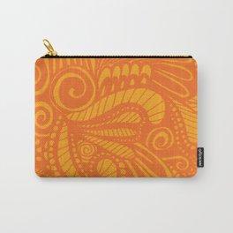 Wild Pop Orange Carry-All Pouch
