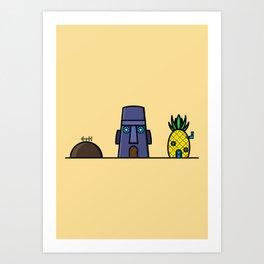Spongebob's House Art Print