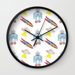 Tin Toys Wall Clock