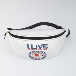 American Eagle Land of Freedom United States of America Fanny Pack