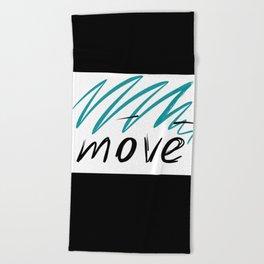 move Beach Towel