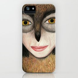 Sheowl iPhone Case