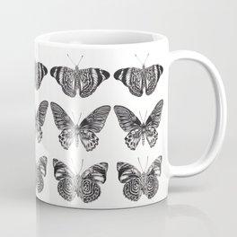 Three Butterflies Coffee Mug