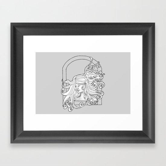 Open Window Framed Art Print