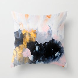 formation: bliss Throw Pillow