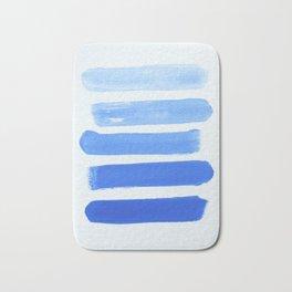 Shades of Blue Bath Mat