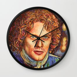 Jamie Fraser Wall Clock