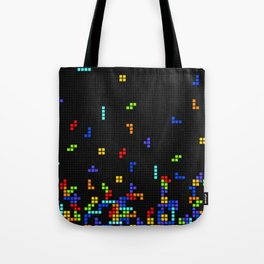 Tetris Time Tote Bag