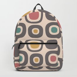 Mid Century Modern Garden Path Pattern 327 Backpack