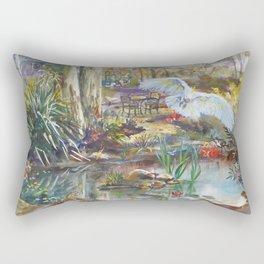 Urban Wildlife Rectangular Pillow