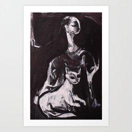 Cattallina Art Print