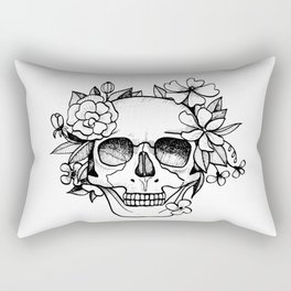 Skull glam Rectangular Pillow