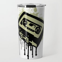 Cassette Splatter Travel Mug