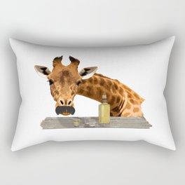 El Girafo Rectangular Pillow