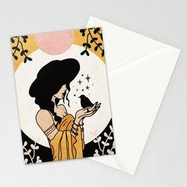 Nightingale Print Stationery Cards