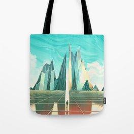 Emerald Fields Tote Bag
