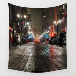 Downtown Calgary Wall Tapestry