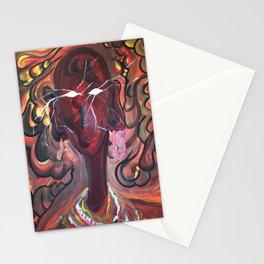 Massai woman Stationery Cards