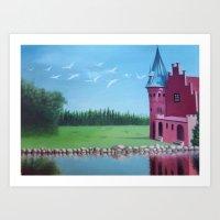 """The Spell"" (Wild Swans) Art Print"
