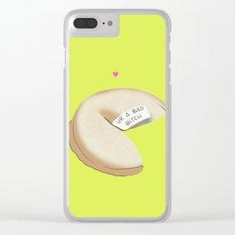 ur a bad b*tch Clear iPhone Case