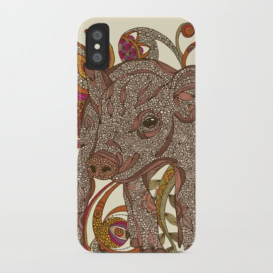 Paisley Piggy iPhone Case