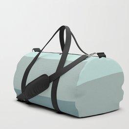 Zen Ocean Stripes Duffle Bag