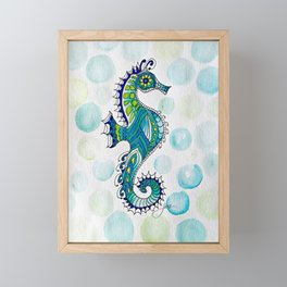 Bubbles Framed Mini Art Print