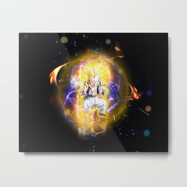 Gotenks SSJ3 Metal Print