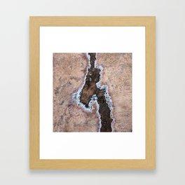 Earth Art Salt of the Earth Framed Art Print
