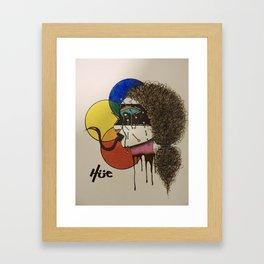 """pierced"" Framed Art Print"